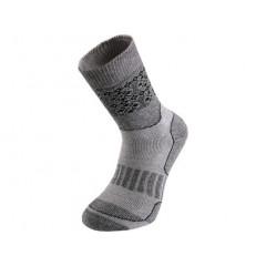 Ponožky SKI zimné šedé