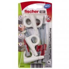FISCHER EasyHook oko DuoPower 8x40mm 4ks/bal. 557927