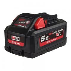 MILWAUKEE M18 HB5.5 akumulátor HIGH OUTPUT™ 18 V, 5,5 Ah
