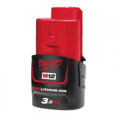 MILWAUKEE M12 B3 akumulátor REDLITHIUM-ION™ 12 V, 3,0 Ah