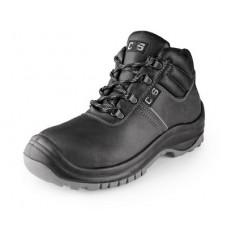 Pracovná obuv SAFETY STEEL MANGAN S3 čierne