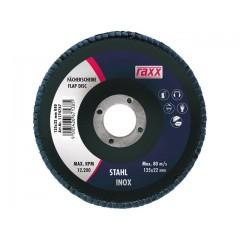 RAXX brúsny lamelový kotúč 125x22,23mm zr. 120