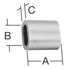 Vormann svorky do 2mm /10ks/ Alu
