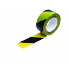 Páska výstražná samolepiaca žlto-čierna 33m