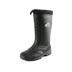 Pracovná obuv THE QUEBEC zimná čierna
