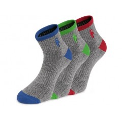 Ponožky CXS PACK šedé 3 páry