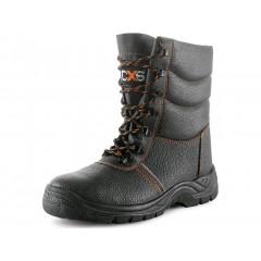 Pracovná obuv STONE TOPAZ S3 zimná čierna