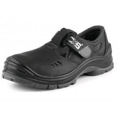 Pracovná obuv sandál COPPER O1 čierna