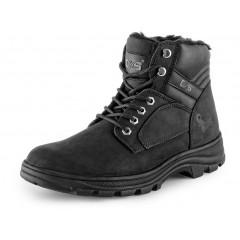 Pracovná obuv zimná INDUSTRY čierna