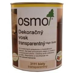 OSMO 3111 vosk dekoračný transp. biely 0,75l