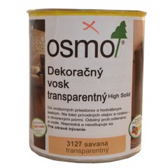 OSMO 3127 vosk dekoračný transp. savana 0,75l