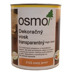 OSMO 3123 vosk dekoračný transp. zlaty javor 2,5l