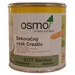 OSMO 3177 dekoračný vosk Creativ bambus 0,375l