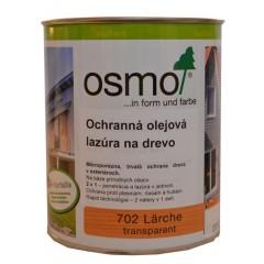 OSMO 702 ochranná olejová lazúra červený smrek 0,75l