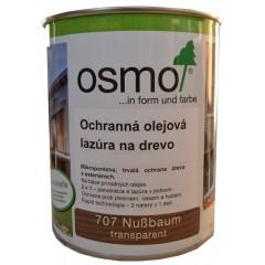OSMO 707 ochranná olejová lazúra orech 0,75l