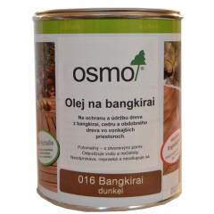 OSMO 016 olej špeciálny na bangkirai tmavý 0,75l
