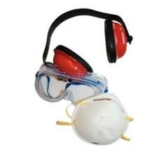 Súprava ochrany tváre 3-dielna