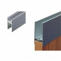 LAGUNA-lišta rámová 2m 4/18mm (H) 8830 Al