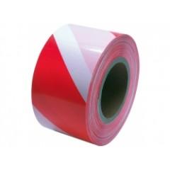 Páska varovacia červeno-biela 250m 80mm