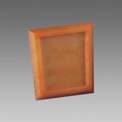 Stierka na silikon (profi) - hneda