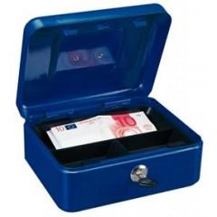 Kazeta na  peniaze modrá  90x200x165mm