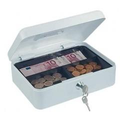 Kazeta na  peniaze biela  80x260x195mm