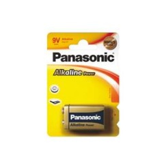 Batéria alkal. 9V PANASONIC 6LR61APB