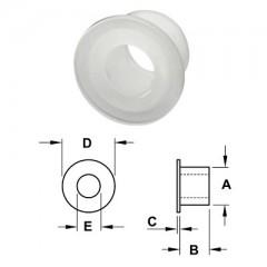 Podložka PVC pre úchytku do skla transparent