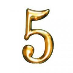 Číslo dverové 50mm samolepiace   5
