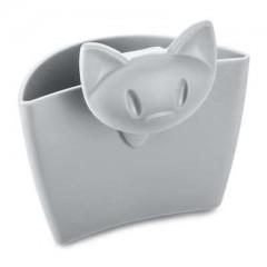 KOZIOL MIAOU mini závesná nádobka šedá