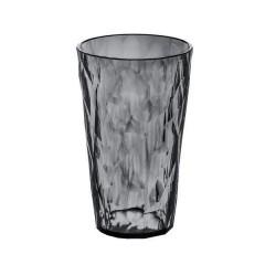 KOZIOL CRYSTAL 2.0 L  pohár 400ml transp.antracitový
