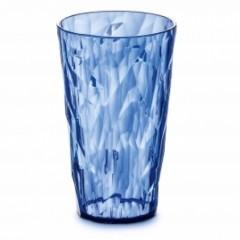 KOZIOL CRYSTAL 2.0 L pohár 400ml transp. modrá