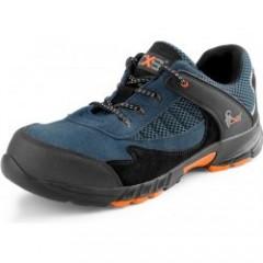 Pracovná obuv ISLAND EIVISSA S1 čierno-modrá v.38