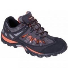 Trekkingová obuv ISLAND IBIZA čierno-oranžová v.42