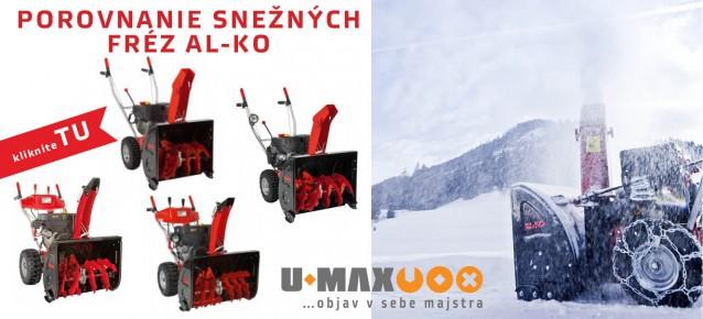 snezna freza al-ko snow line porovnanie