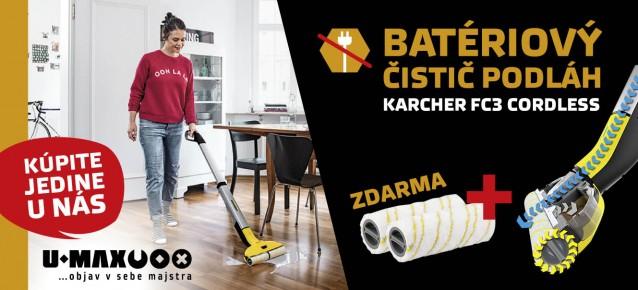 karcher FC3 cordless cistic tvrdych podlach