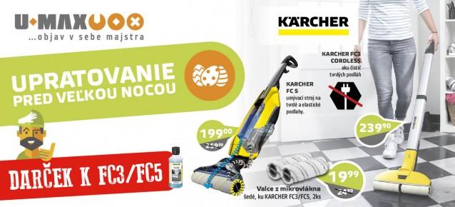 karcher FC3 cordless podlahovy cistic, wv premium cistic okien