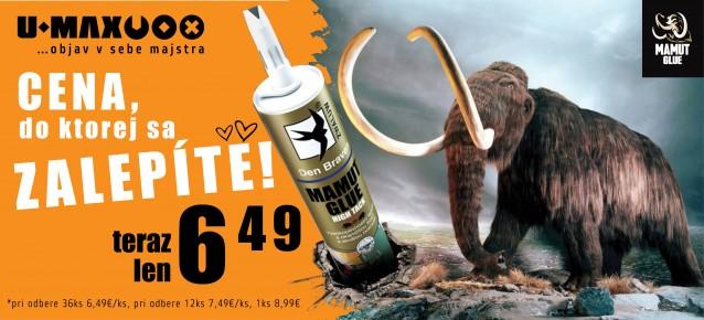 mamut  glue high tack lepidlo
